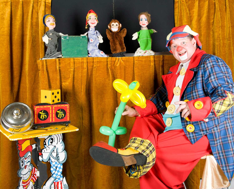 Bobo de clown de leukste Clown van Den Haag